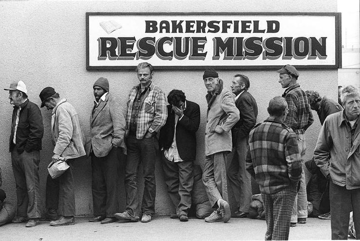 Bakersfield Rescue Mission, 1982