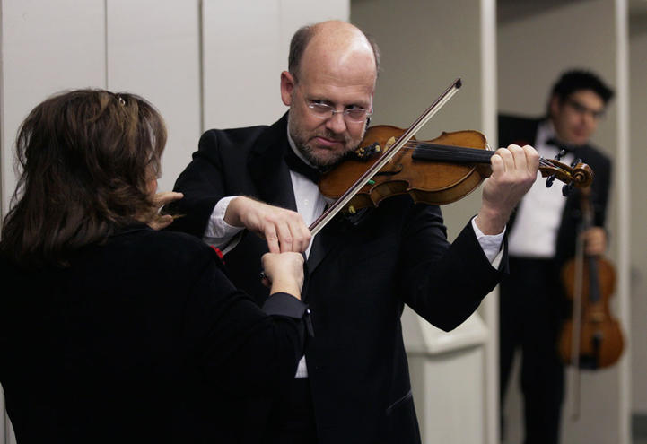 Two Violinsts, 2009