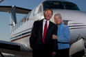 Steve and Patricia Loyd, Bakersfield Jet Center by Loyd's Aviation